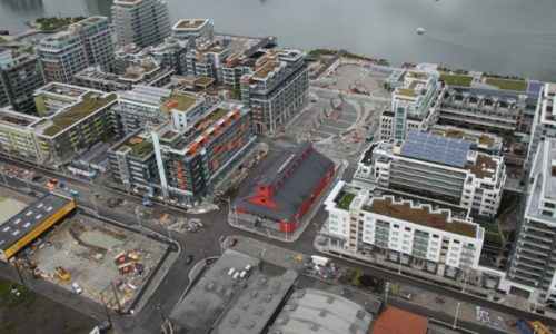 Olympic Village Aerial Shot